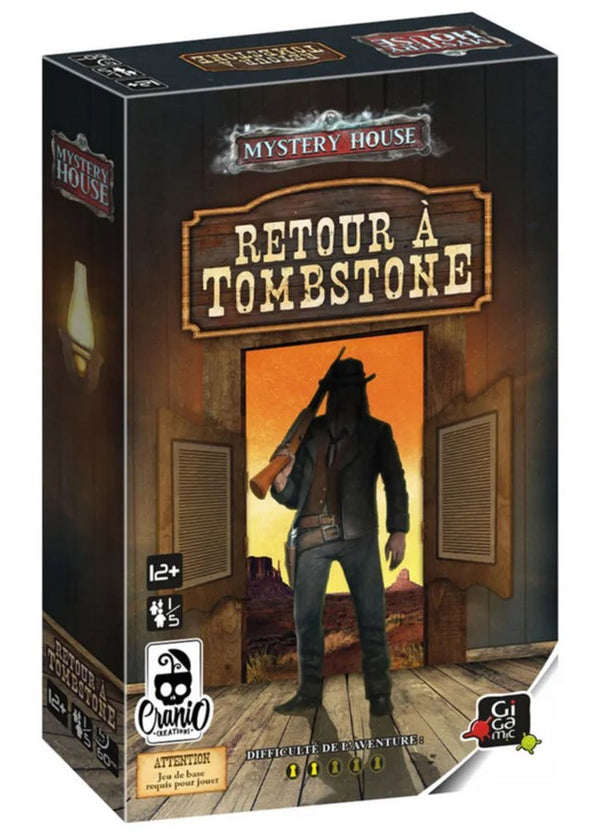 MYSTERY HOUSE EXTENSION 3 RETOUR A TOMBSTONE - Declic Informatique