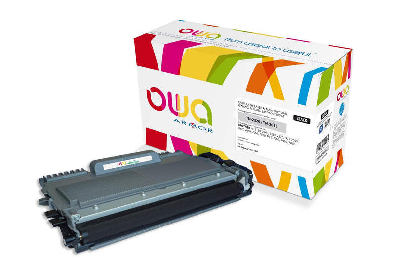 TONER BROTHER TN-2220/TN-2010 NOIR 2600P (K15417OW) - Declic Informatique