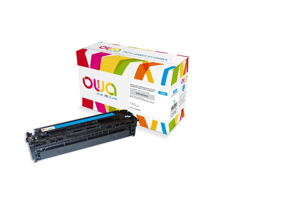 TONER HP 131A CYAN COMPATIBLE - Declic Informatique