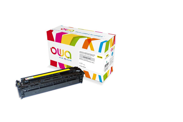 TONER HP 131A JAUNE COMPATIBLE - Declic Informatique