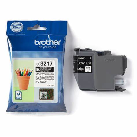 BROTHER LC-3217BK NOIRE 550P - Declic Informatique