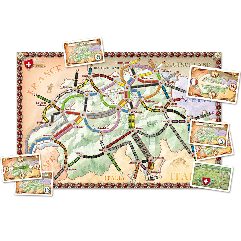 LES AVENTURIERS DU RAIL EXTENSION INDE/SUISSE (TICKET TO RIDE) - Declic Informatique
