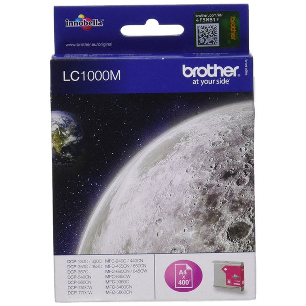 BROTHER LC-1000M  MAGENTA - Declic Informatique