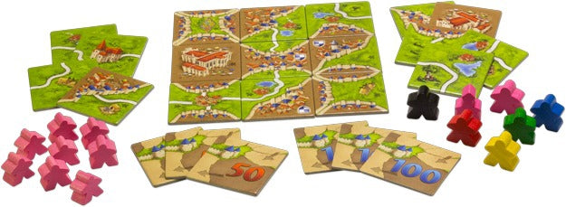 CARCASSONNE EXTENSION AUBERGES ET CATHEDRALES - Declic Informatique