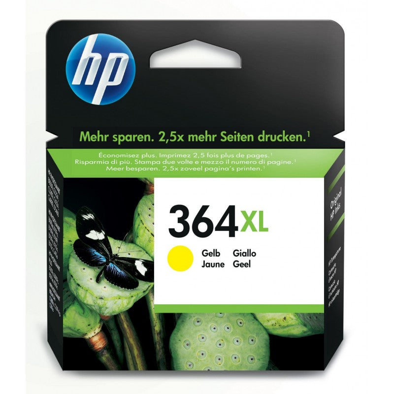 HP 364 XL JAUNE - Declic Informatique