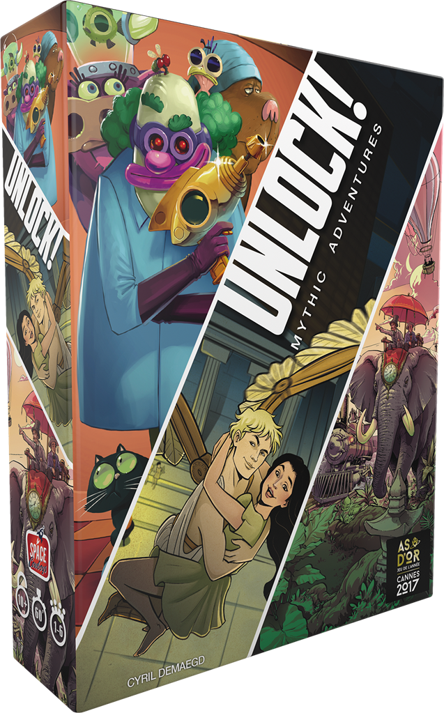 UNLOCK! MYTHIC ADVENTURES - Declic Informatique