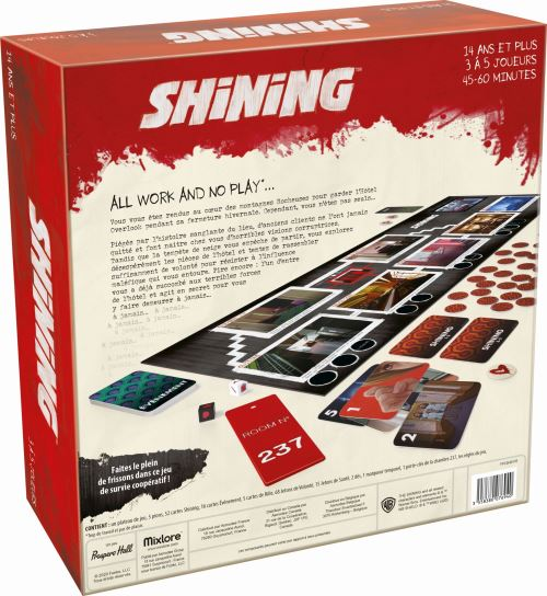 THE SHINING LE JEU DE SOCIETE - Declic Informatique