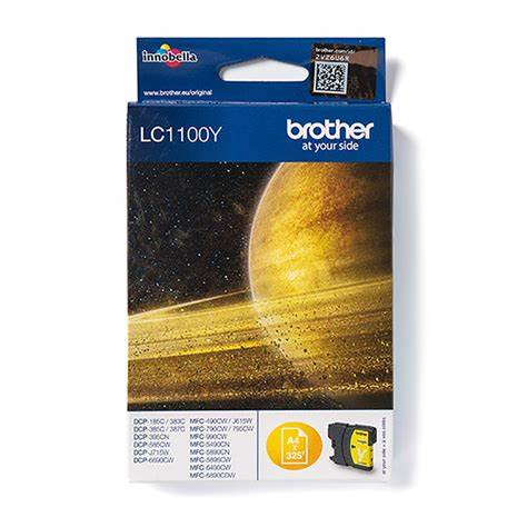 BROTHER LC-1100Y JAUNE - Declic Informatique