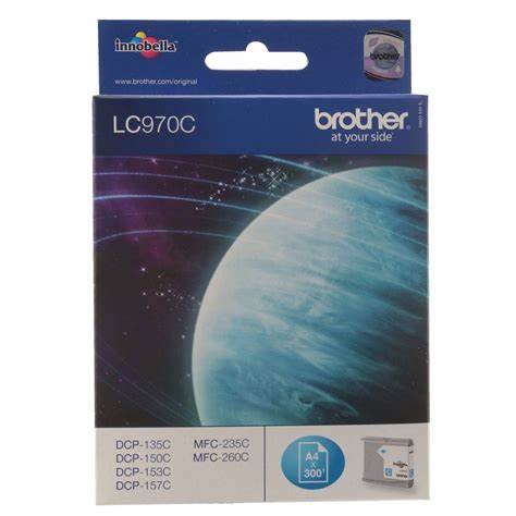 BROTHER LC970C CYAN - Declic Informatique