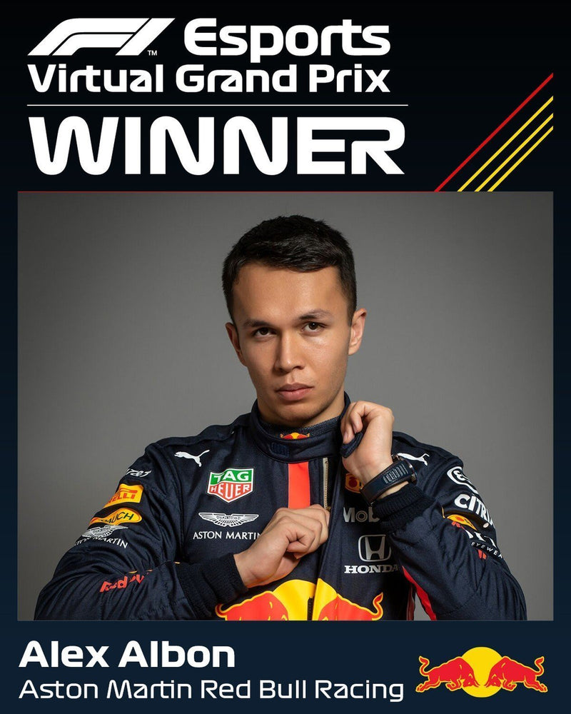 Albon takes his first victory in Virtual Dutch Grand Prix | Simplace