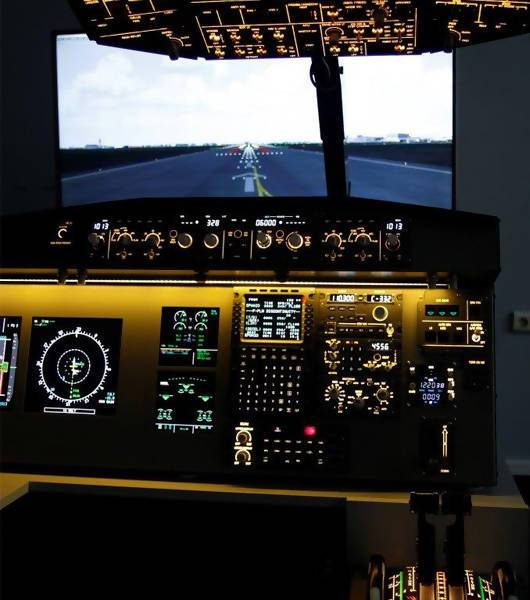 A320 Desktop Simulator Plug & Play - Simplace.co