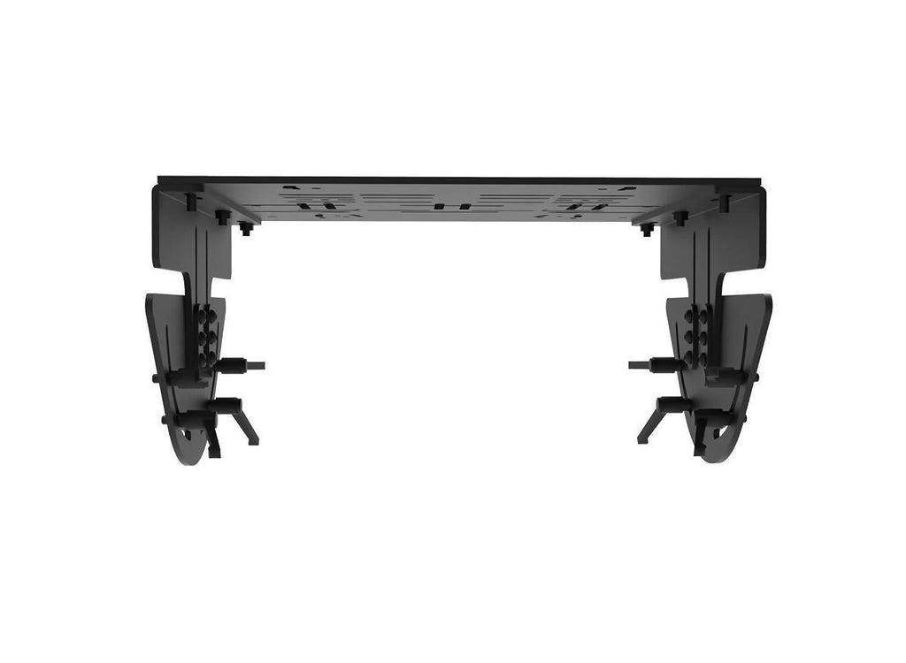 Adjustable Two-way Pedal Mount including Pedal Plate, 4 Brackets and all Screws - Simplace.co