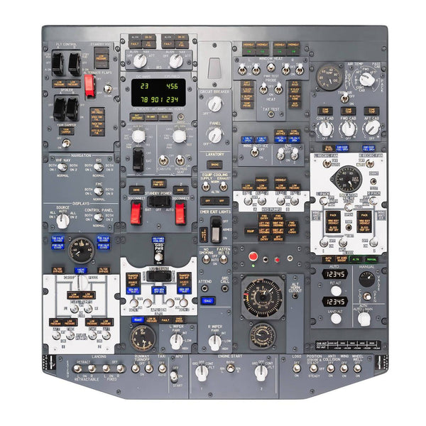 B737 Overhead Panel (Forward) Plug&Play - Simplace.co