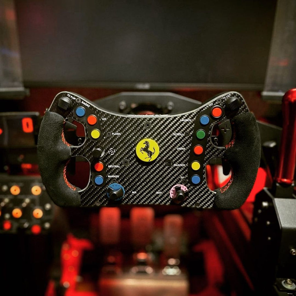 Ferrari 488 GTE Elite Steering Wheel - Innato