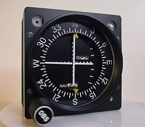 GSA-058 VOR-1 WITH GLIDESLOPE INDICATOR - Simplace
