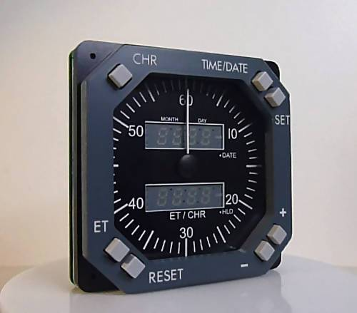 GSA-070 CHRONOMETER/CLOCK GREY BOEING STYLE - Simplace.co