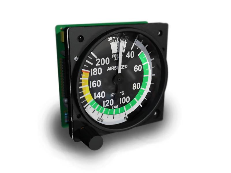 GSA-095 INDICATED AIRSPEED 200 KTS WITH TAS DISK (CESSNA-182) - Simplace.co