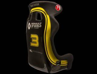 Renault DP World F1 (TM) Team GT Style Simulator Seat – Daniel Ricciardo n°3 - Simplace.co