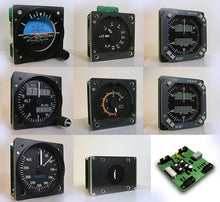 Load image into Gallery viewer, SET-MIP737-P MAIN INSTRUMENT PANEL GAUGE SET FOR 737 (PRO VERSION) - Simplace.co