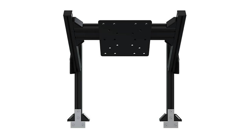 TR8020 Black Aluminium Quad Monitor Stand Add-On with VESA Mount - Simplace