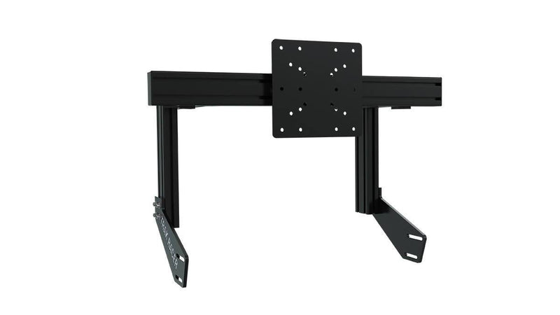 TR8020 Black Cockpit-Mounted Single Monitor Stand with VESA Mount - Simplace.co