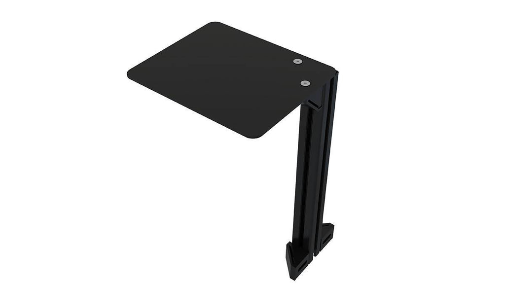 TR8020 Universal Aluminium Profile Computer Mouse Shelf with 40x40mm Profile and Brackets - Simplace.co