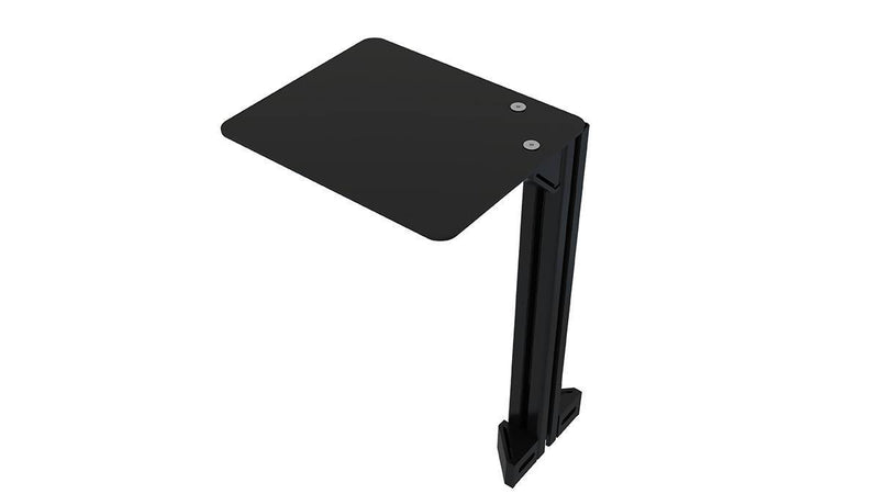 TR8020 Universal Aluminium Profile Computer Mouse Shelf with 40x40mm Profile and Brackets - Simplace