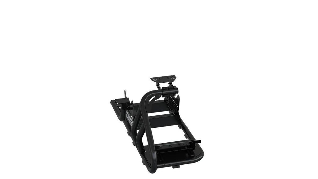 Trak Racer RS6 MACH 3 Black Racing Simulator Rig – NO SEAT - Simplace.co