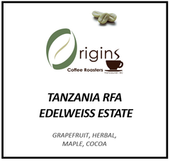 TANZANIA RFA EDELWEISS ESTATE AB LOT 1052 GRAINPRO