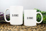 Personalized Ballet Gift Coffee Mug