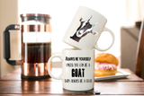 Always Be Yourself Unless You Can Be A Goat Coffee Mug Gift - Goat Gifts for Goat Lovers - Goat Coffee Cup