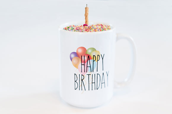 Happy Birthday Coffee Mug Gift