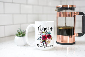 Personalized Aunt Coffee Mug Gift