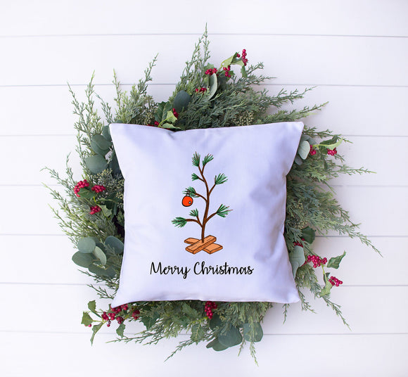 Charlie Brown Christms Tree Pillow
