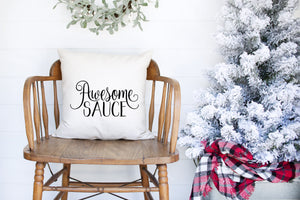 Awesome Sauce Decorative Pillow Cover
