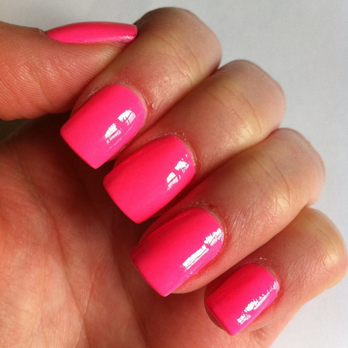 Coloured Acrylic Nail Extensions