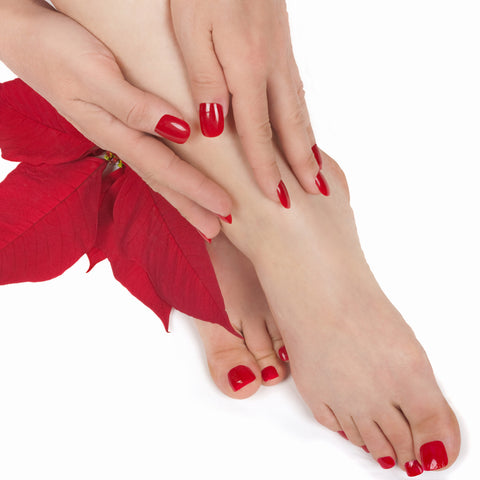 CND Shellac 7 to 14 Day Polish on Toes