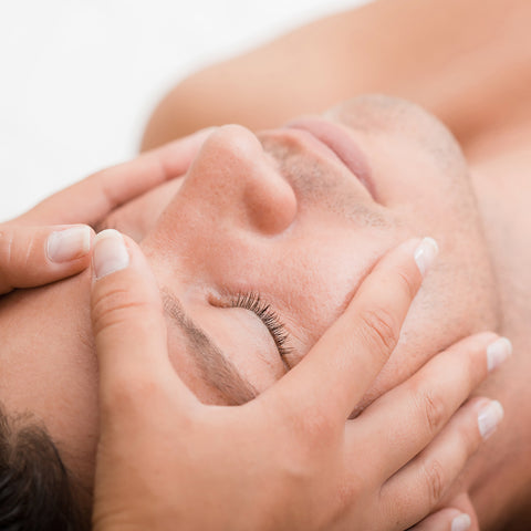 ESPA Mens Shoulder Neck and Face Massage
