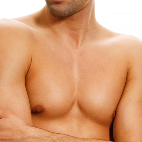 Mens Waxing Chest Wax