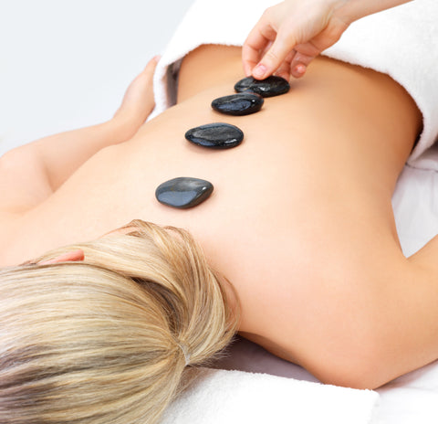 ESPA Hot Stones Relaxing Back Massage