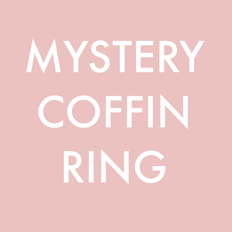 Mystery Coffin Ring - LIMITED EDITION