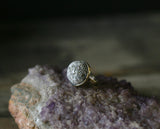 LAST CHANCE Full Moon Ring or charm by Black Springs Folk Art