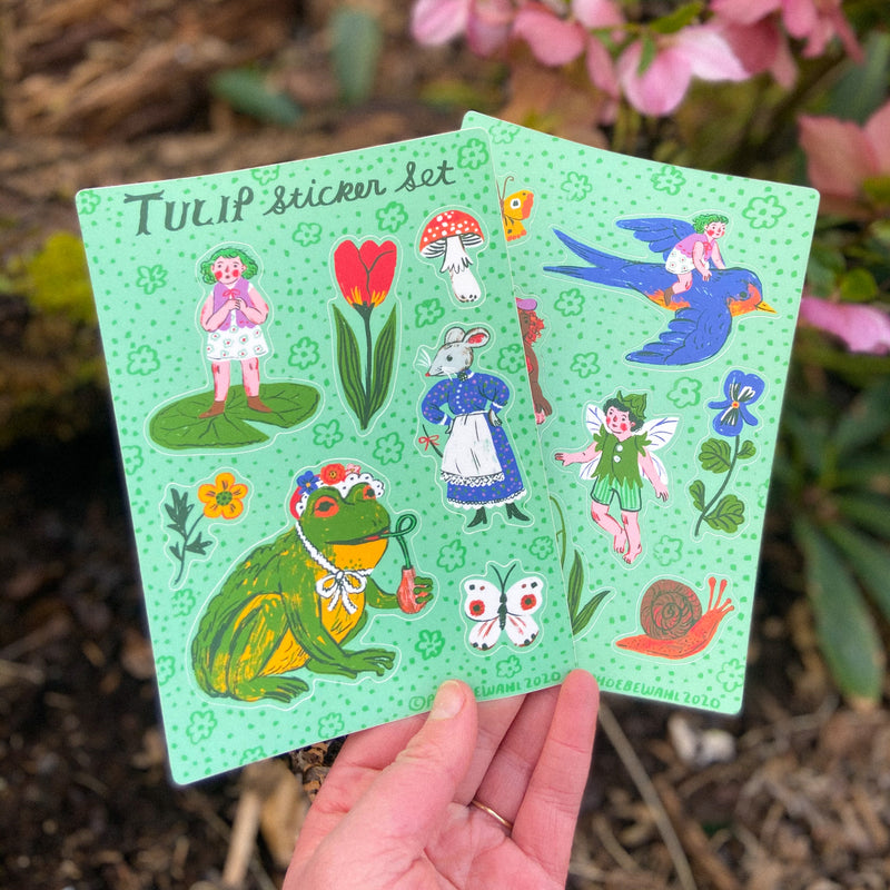 Tulip Sticker Set