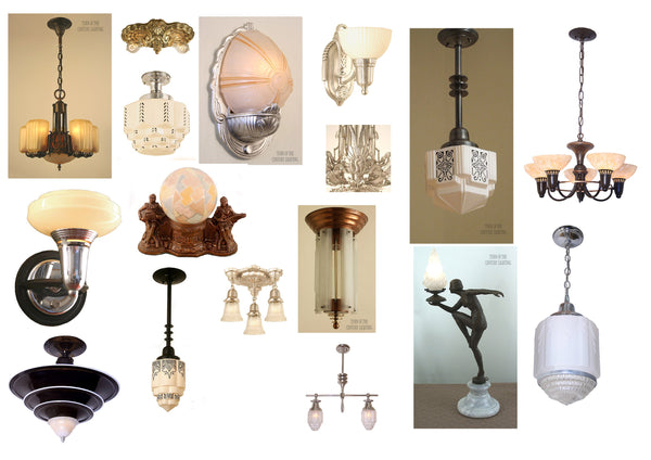 Learn About Antique Art Deco Lamps