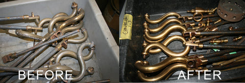 brass finishing and polishing toronto