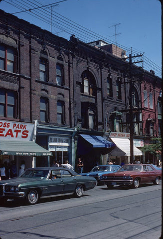 queen street east in the 70s
