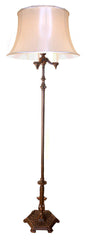 antique sofa floor lamp cast iron