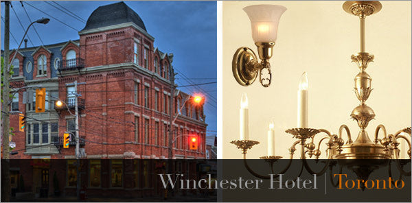 wichester hotel tim horton's lighting toronto