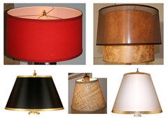 Custom Lampshades from Turn of the Century Lighting
