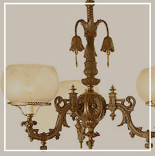 Restored antique & vintage chandeliers toronto